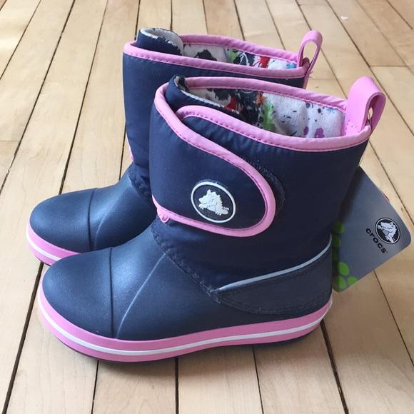 CROCS Shoes | Girls Winter Boots | Poshmark